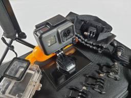 GoPro Hero 5 com mais de 50 acessórios