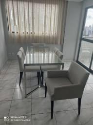 Conjunto de Mesa + 6 Cadeiras da Novo Projeto