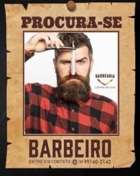Título do anúncio: Vaga de barbeiro inicio imediato