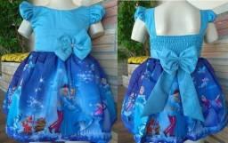 Vestido Cinderela tamanho 1