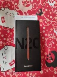 Samsung Note 20 256gb Lacrado NF-e 1 ano de garantia