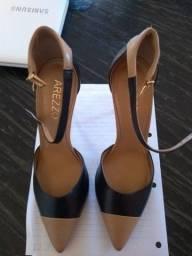 Sapato feminino couro