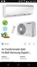 Split Samsung 9000btus Inverter (Lacrado)