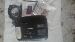 Projetor Epson S8 pouquíssimo usado, Lampada nova + Tela de projeção