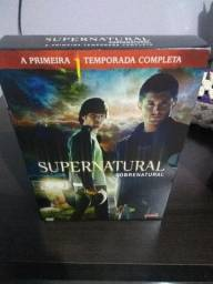 Box DVD Primeira Temporada Supernatural Original