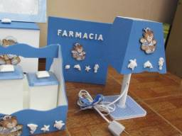 Kit para bebê em MDF