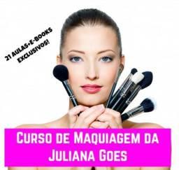 Aprenda os Segredos dos Makes Perfeitos com Juliana Goes - Kit curso maquiagem completo!