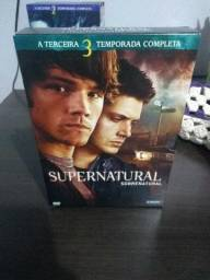 Box DVD Supernatural Terceira Temporada Original