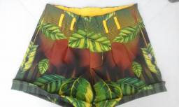 Shorts social estampas exclusivas