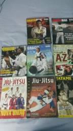 Oito revistas de jiu jitsu