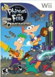 Jogo : Phineas And Ferb para WII - Muito Novo !!! Impecável !!! , Estado Okm !!!