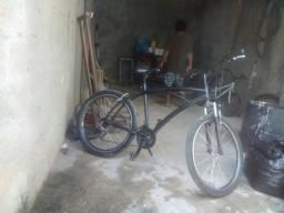 Bicicleta playana luminio com a mordecedor