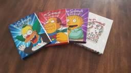 Temporadas dos Simpsons em DVD Lote com 4 Boxes