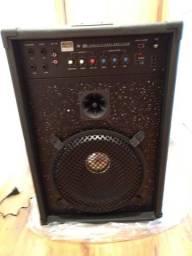 Amplificador MP 320 novo - para microfone, instrumentos e aparelhos eletrônicos