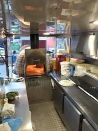 Food truck- com forno a lenha