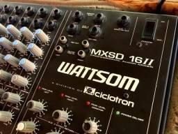 Vendo Mesa de Som Ciclotron - WattSom - MXSD 16II * - Com CASE