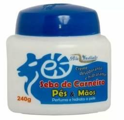 Creme Sebo De Carneiro 240g Bio Instinto Cx 12 Unidades