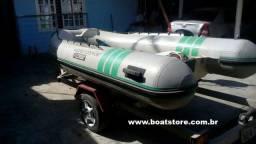 Flexboat SR 12 - Mercury 15HP