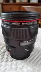 Lente Canon 35mm 1.4 Semi nova comprar usado  Vitória da Conquista