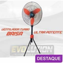 Ventilador Ultra Potente Brisa Laranja 3 Velocidades Promoção de 199,00 por 149,00 comprar usado  Campo Grande