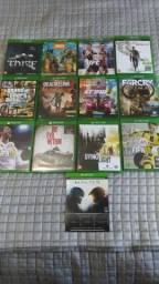 Jogos Xbox one conforme na imagem