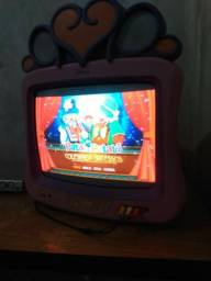 Tv retrô infantil princesas Disney