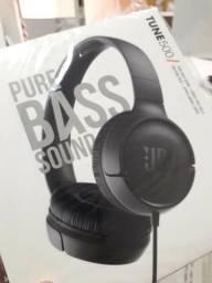 Headphone Bluetooth Jbl Tune 500 Original- 01 Ano de Garantia-(Loja na Cohab)
