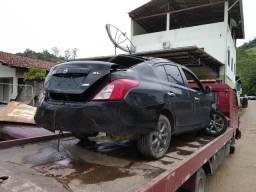 Sucata Nissan versa 1.6 16v SL 2013 para retirada de peças