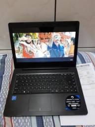 Notebook top pouco tempo uso 4GB de ram, 500GB de HD!