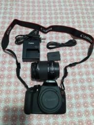 Câmera Profissional Canon Rebel T6 - Semi nova - Aceito Cartão
