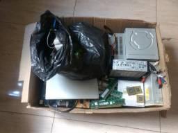 Tenho algumas peças de informática, processadores, memórias ddr2