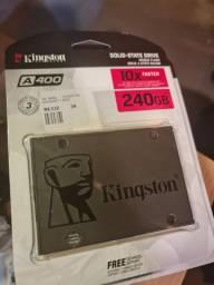 SSD KINGSTON 240GB NOVOS LACRADOS
