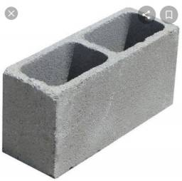 bloco de cimento 2 reias cada