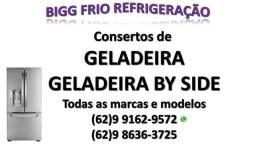 Consertos de geladeiras, freezers e balcões refrigerados