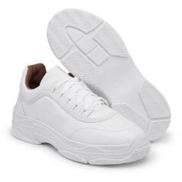 Tênis Feminino Dad Sneaker Chunky Estilo Blogueira. Macio e Confortável