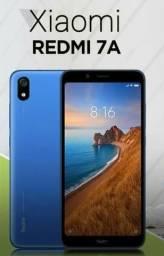 Entrego Agora! REDMI 7A da Xiaomi. novo lacrado com garantia.