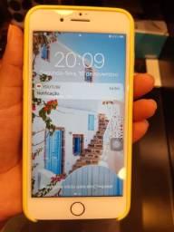 Iphone 7plus, rosê, 32gb