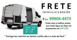 Frete Joinville e Região.