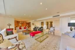 Magnífico apartamento, 100% mobiliado com 3 dormitórios, 2 suítes, para alugar, 385 m² por