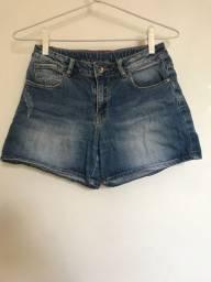 Short Jeans, Zara, usado.