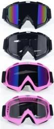 Oculos google motocross, trilha barato, promocao enduro, anti embassante