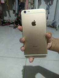 Iphone 6 plus gold.