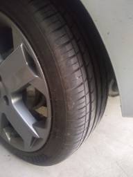 Troco rodas 15 por aro 17