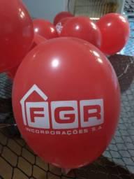 Balões personalizados com sua marca