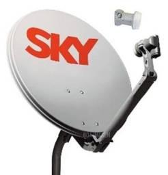 Vendendo duas antenas SKY usada
