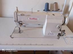 Máquina de costura , reta industrial.