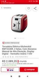 Torradeira Eletrônica Kitchenaid Vermelha - Aceito Oferta