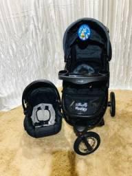 Carrinho de bebê triciclo 3 em 1