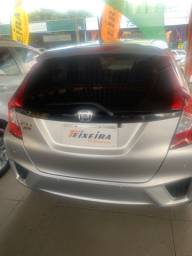 Honda Fit DX 1.5 completo, prata, 2016, 40.000 km