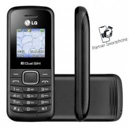 Pronta Entrega Original LG B220 Dual Sim 32 Mb preto Ram